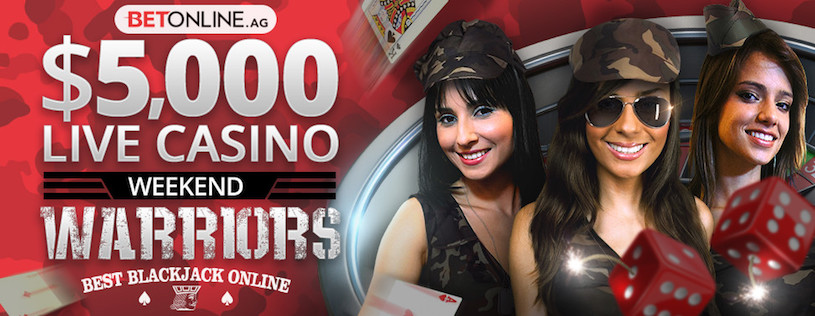 BetOnline Live Blackjack Weekend Warriors
