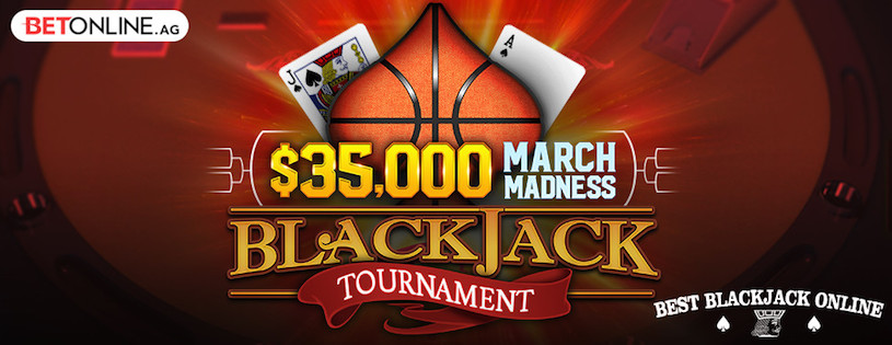 March Madness 2019 Blackjack Tournament at BetOnline