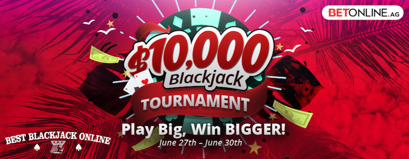 Big BetOnline Blackjack Tournaments to End June 2019